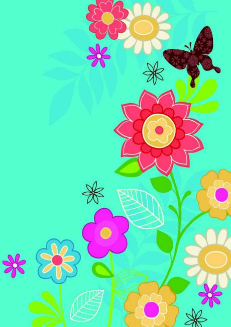 printable flowers for scrapbooking scrapbook paper flowers and butterfly