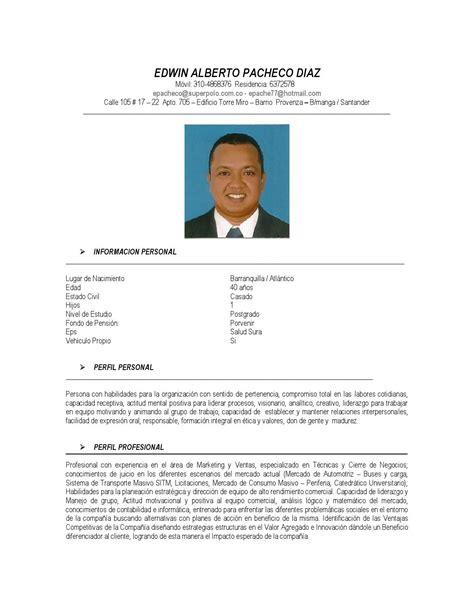 abhijit de perfil profesional hoja de vida by manager one issuu