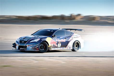 genesis drift car the new king of drift hyundai genesis coupe by rhys millen