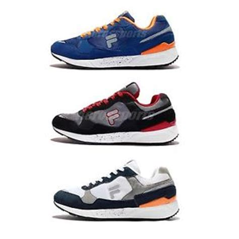 picking running shoes fila j920p retro mens running shoes sneakers 1