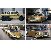 Saudi Tourist Brings Four Gold Cars Worth More Than &1631m To London