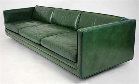 Harvey Probber Leather Sofa At 1stdibs Harvey Leather Sofa
