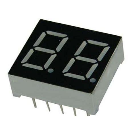 7 Segmen Seven Segment Led Display 1 Digit Common Cathode 056 2 digit seven segment display