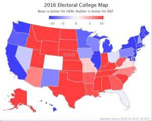 electoral college map 2016 predictions 2016