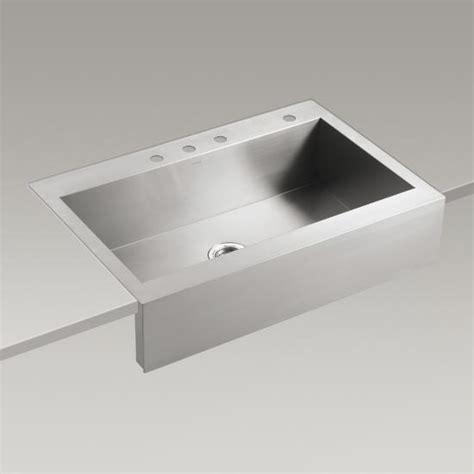 kohler canada k r3942 4 vault apron front single basin