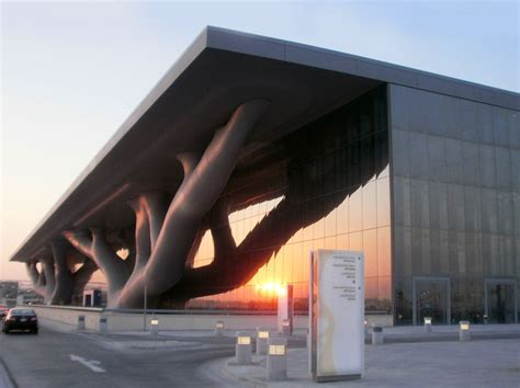 Design Center Qatar | qatar national convention centre in doha by arata isozaki