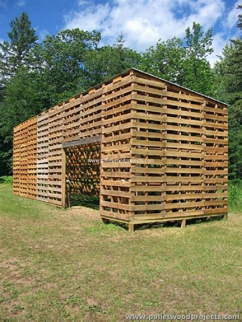 Wonderful Christmas Tree Boxes For Storage #7: Pallet-Garden-Shed.jpg