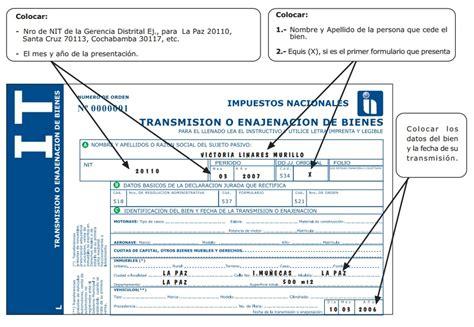 pago impuesto de vehculos en sucre bolivia impuesto a la transferencia de inmuebles vehiculos y