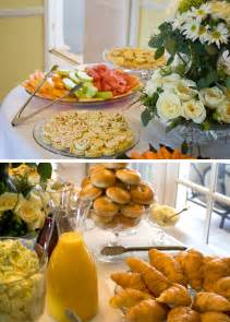 food ideas for bridal shower brunch bridal shower brunch food table bridal shower