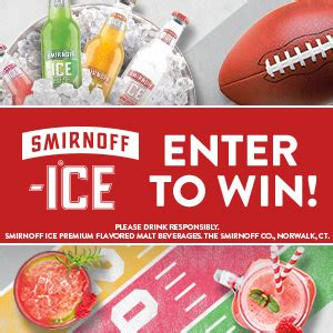 Smirnoff Ice Sweepstakes - smirnoff ice big game sweepstakes