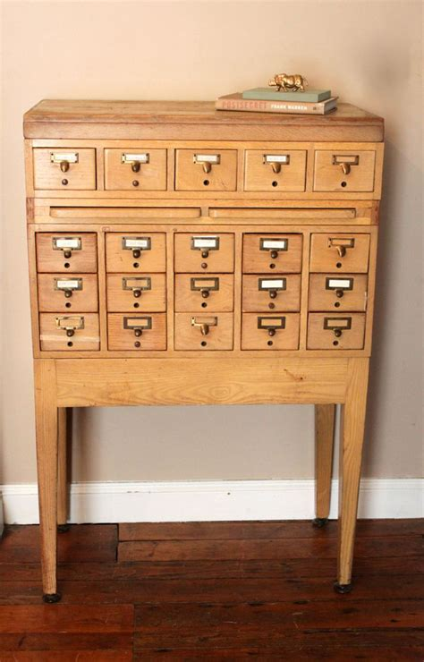 vintage library card file cabinet reserved for alex vintage library card catalog file cabinet