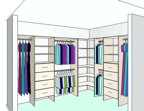 l shaped closet design ideas below is an exle of an
