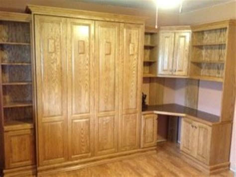 murphy bed with corner desk murphy bed with corner bookcase bullock style custom
