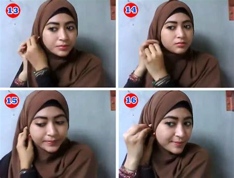 tutorial hijab pashmina natasha farani tutorial hijab pashmina kuliah ala natasha farani 2017