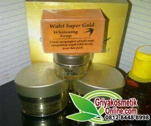 Paket Whitening Gold paket walet gold premium 5 in 1 original pemutih wajah herbal