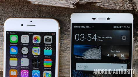 p iphone 6 apple iphone 6 vs huawei p8 on android authority