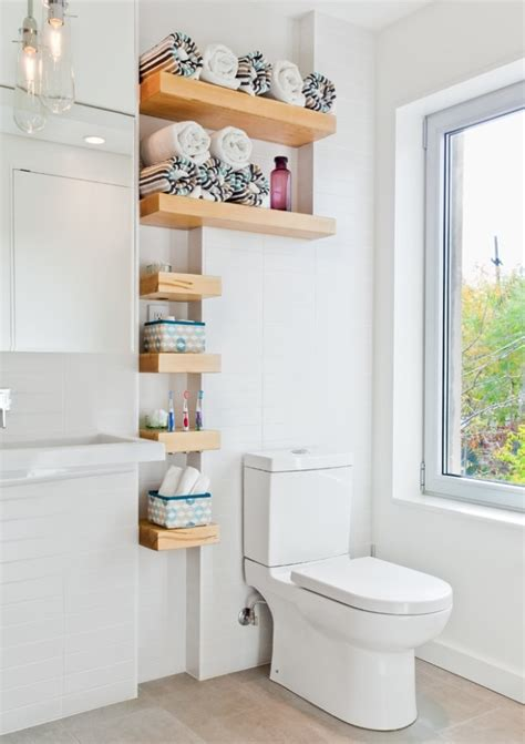 Bathroom Shelves Pinterest Small Bathroom Shelves Small Bathroom Pinterest