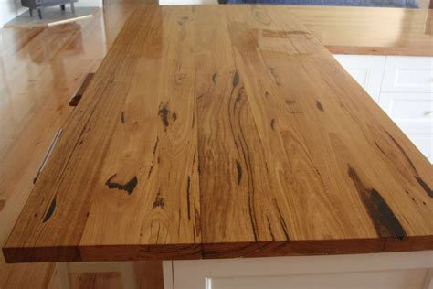 timber bench top feature grade mannagum architectural timbers and kitchens