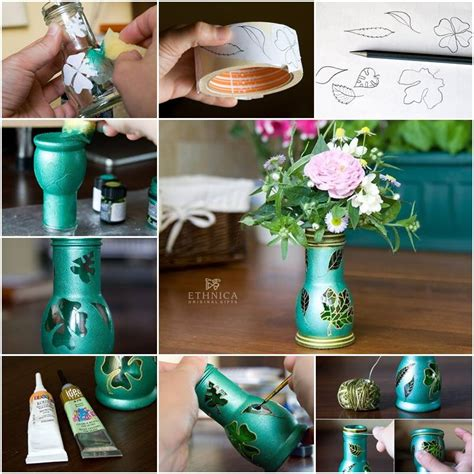 15 amazing diy flower vases to decorate your home