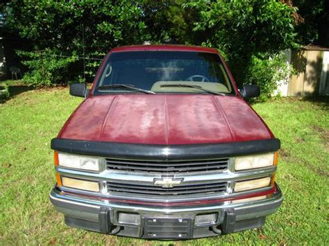 all car manuals free 1995 chevrolet 2500 windshield wipe control find used 1995 chevy silverado 2500 diesel 4xd maroon 2 door extended cab in mobile