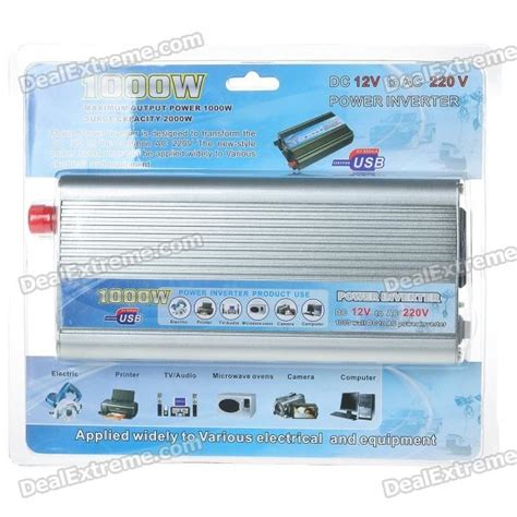 Power Inverter 1000w Dc 12v Ke Ac 220v Murah carro barato 1000w 12v dc para 220v ac power inverter