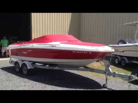 used boat trailers charlotte nc 2006 sea ray 205 sport w trailer used boat for sale lake