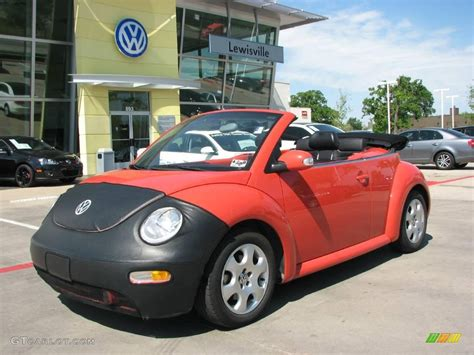 orange volkswagen beetle 2003 sundown orange volkswagen new beetle gls convertible