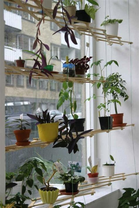 Hanging Window Plant Shelf by 16 Unique Indoor And Outdoor Hanging Planter Ideas