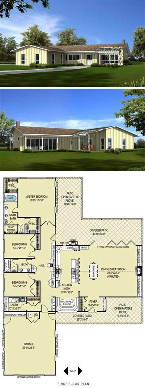 cliff may floor plans 8 cliff may inspired ranch house plans from houseplans com