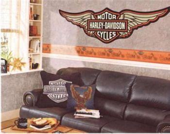 harley davidson furniture and home decor the idea of harley harley davidson wallpaper borders wall decals and murals