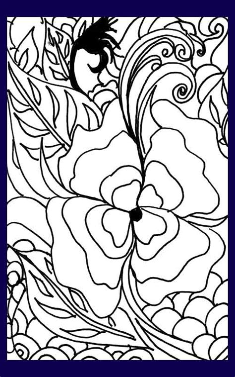 O Keeffe Coloring Pages by Pansy Coloring Page Flowers Coloring Page Forest