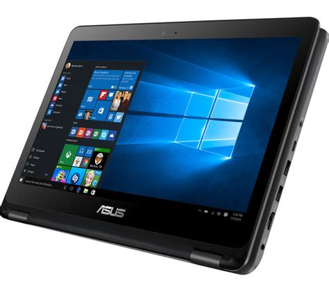 Asus Flip 13 3 Touchscreen Laptop Review asus transformer book flip tp301ua 13 3 quot touchscreen 2 in 1 black deals pc world