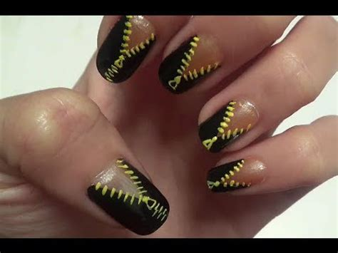 funky zip nail design do it yourself
