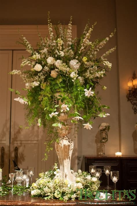 how to make tall flower arrangement in urn youtube 1000 images about flowers for tall vases on pinterest