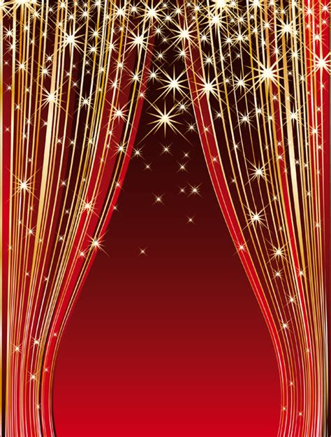 graphic curtains red stage curtain design vector graphic 01 over millions