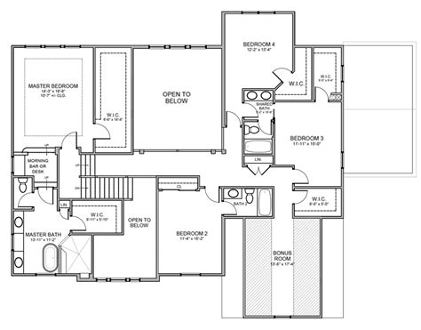 Phil Parade Of Homes Floor Plan by Review The Wimbledon Multi Level Floorplans