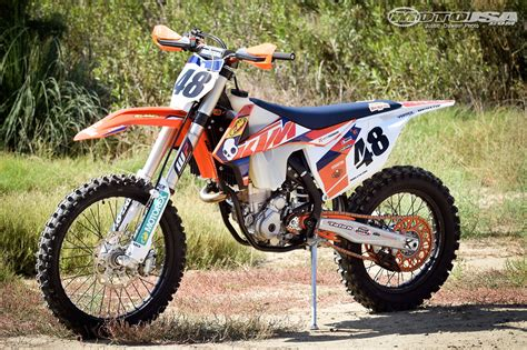 Ktm Usa 2016 Ktm 350 Xc F Project Powerparts Photos Motorcycle Usa