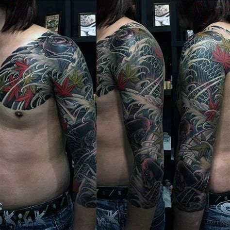 japanese cover up tattoo designs 50 cover up sleeve design ideas for manly ink