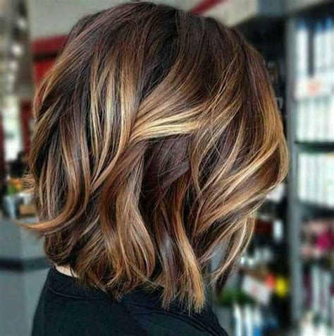 wavy hair highlights  chic ladies hairstyles