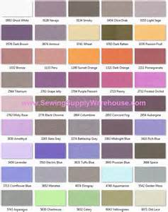 isacord color chart isacord 1000m 4 19 or 5000m 10 99 polyester