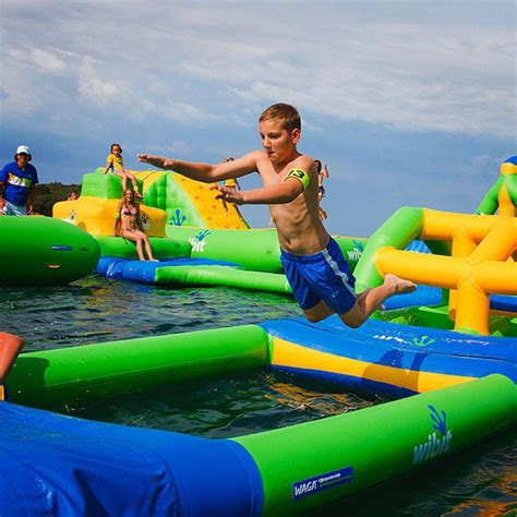 outdoor rentals montreal aquazilla obstacle course on the water parc jean drapeau