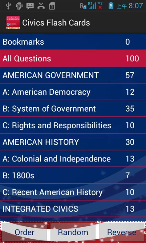 Citizenship Questions Index Card Template by Civics Flash Cards Premium For Us Citizenship Test