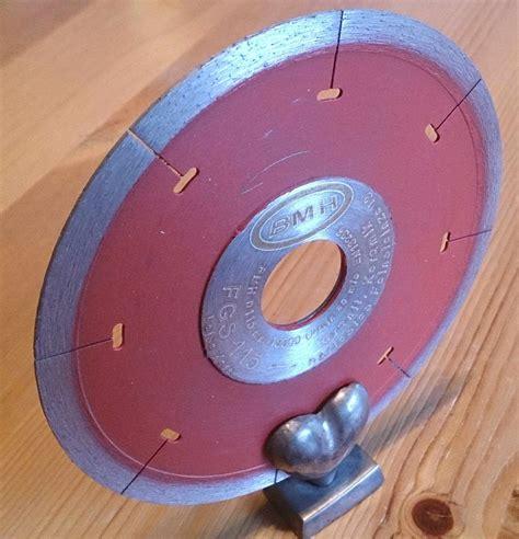 bohren in fliesen 6233 fgs trennscheibe feinsteinzeug geschlitzt 115 mm neu bmh