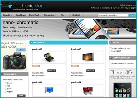 40 free magento themes for your online shopping store
