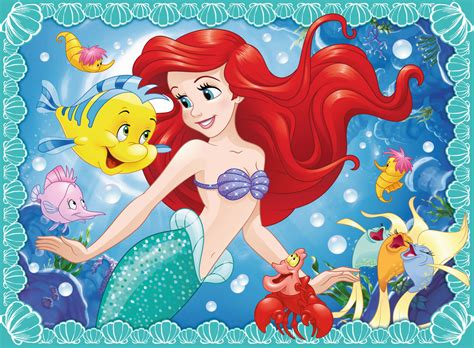 libro little mermaid and other ravensburger ariel puzzle jarrold norwich