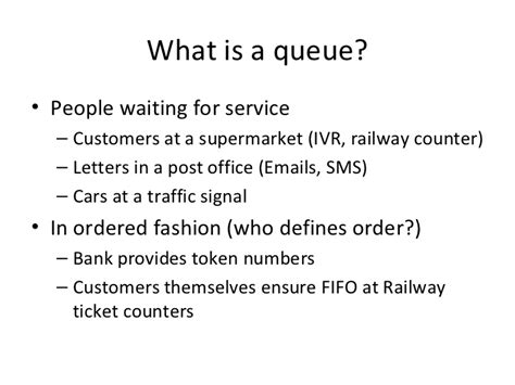 Queuing Theory Notes For Mba by Queuing Theory