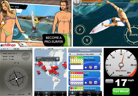 Surfing App by The Best Iphone Surf And Apps