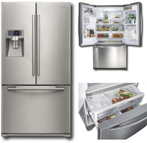 side by side door refrigerator samsung