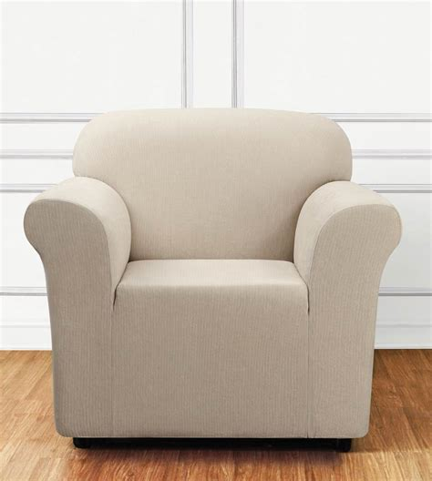 stretch covers for armchairs sure fit ultimate stretch chenille chair cover