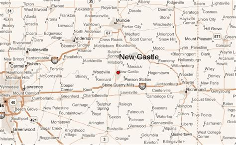 New Castle Property Records New Castle Indiana Map Indiana Map